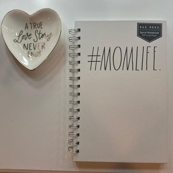 5/$50 Rae Dunn #Momlife Spiral Notebook